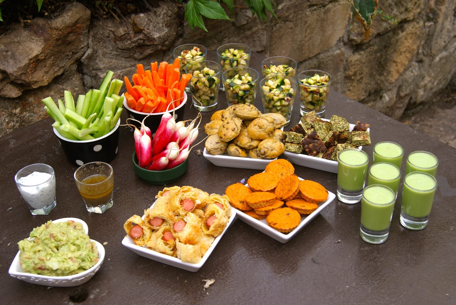 Comment je pr pare mes ap ritifs dinatoires cuisine mag - Apero dinatoire pas cher original ...